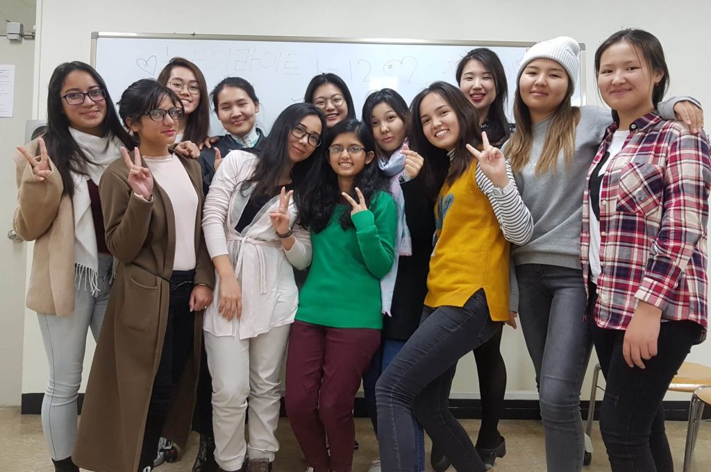 Exchange Students from Shoolini University at Gachon University