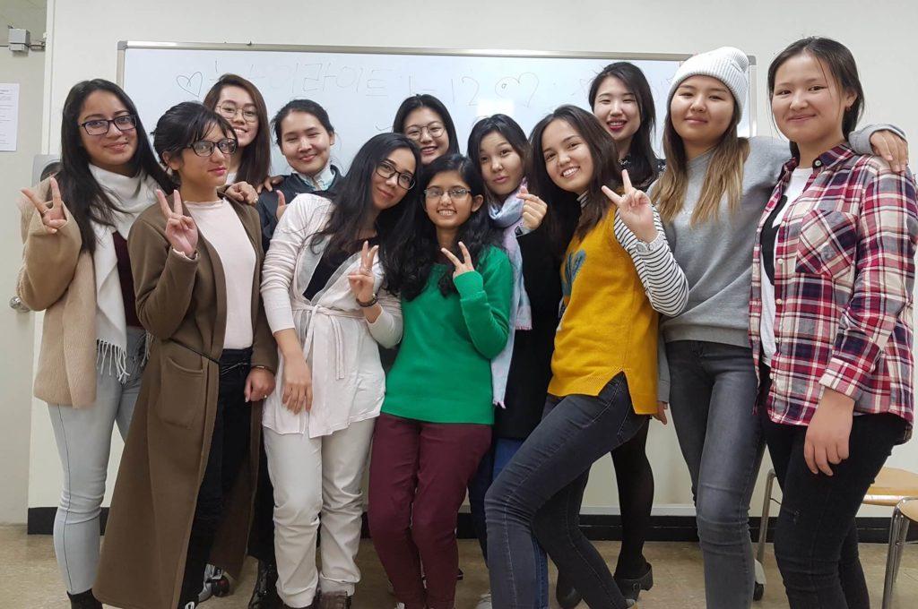 Exchange Students from Shoolini University at Gachon University
