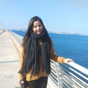 Pretty Baglat, Exchange student from Shoolini University  in Italy