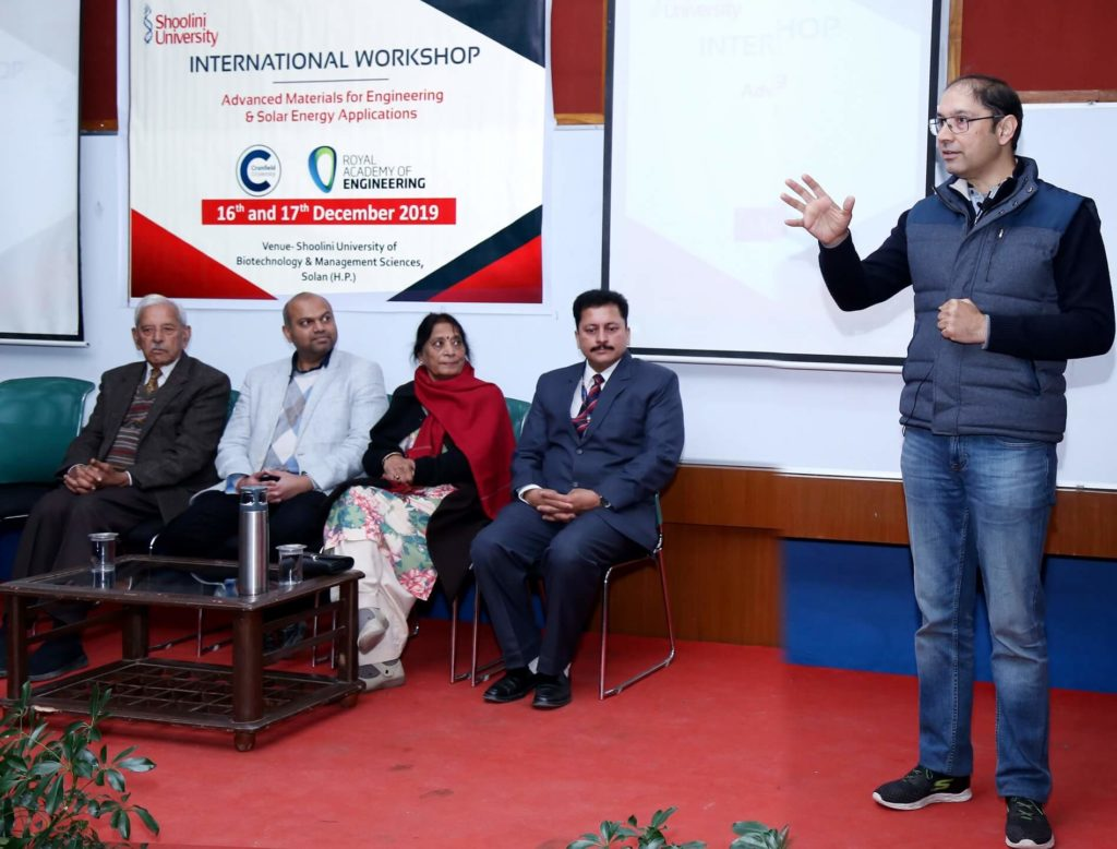 """International Workshop on """"Advanced Materials for Engineering and Solar Energy Applications"""""""