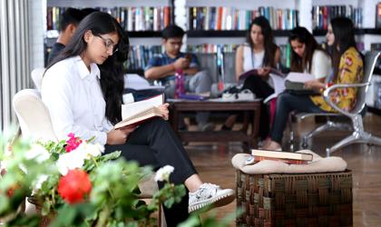 24X7 learning at Yogananda Library