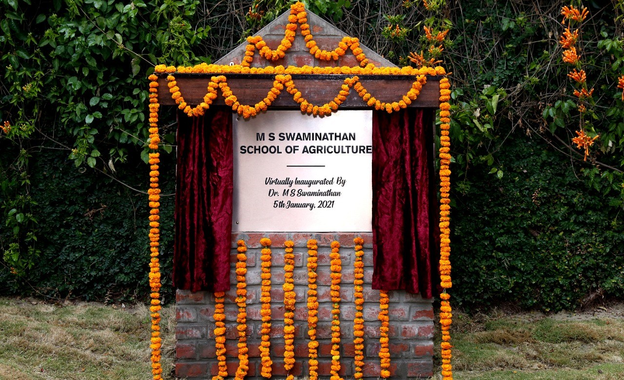 MS Swaminathan School of Agriculture inaugurated at Shoolini University