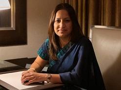 Nishtha Shukla Anand (Director Communication) -- BA (Hons) & MA in Eng. Lit. (Lady Sriram College, DU), PGDJM (St. Xavier's College, Mumbai)