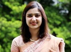 Avnee Gupta (Vice President) -- BA Eng. Lit. (Miranda House) & MBA (LBSIM)