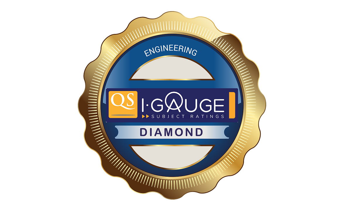 QS Diamond rating for Engg faculty